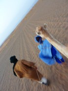 Being led through the Sahara desert atop a camel is a must