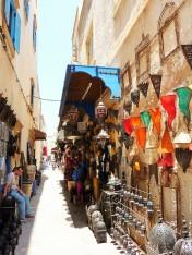 Street markets in Essaouira