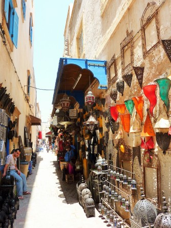 Street markets in Essaouira
