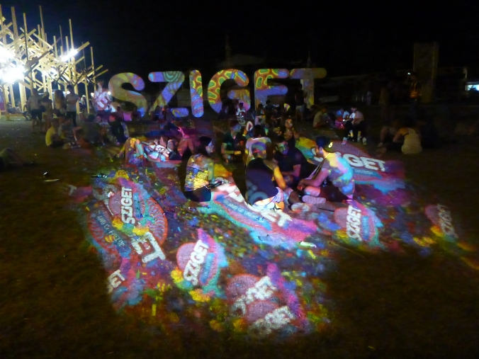 Sziget festival lights