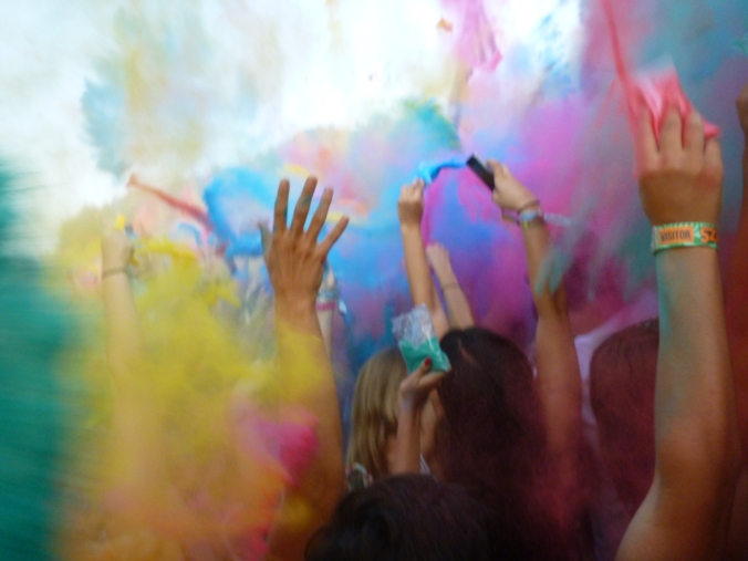 Sziget Colour Party
