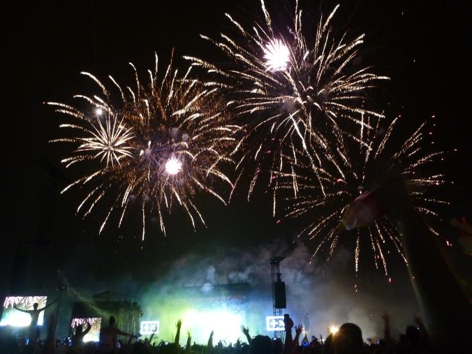 Sziget Fireworks