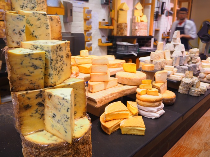 Cheese at Borough Market