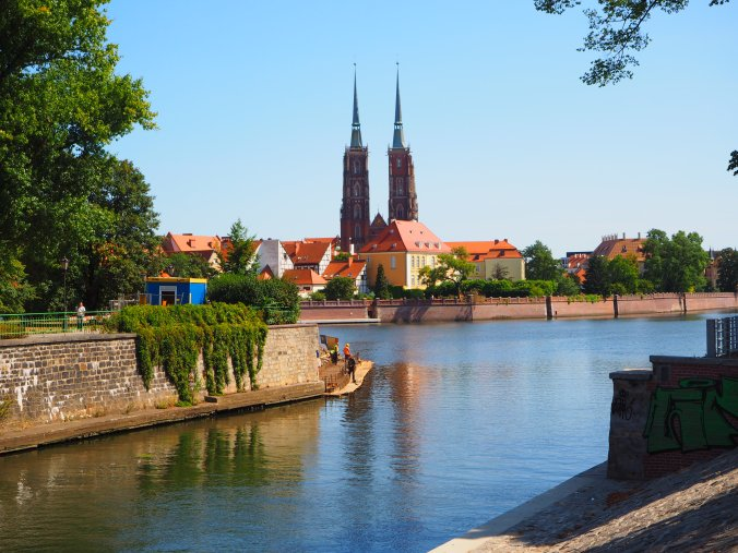 Cathedral Island, Wroclaw