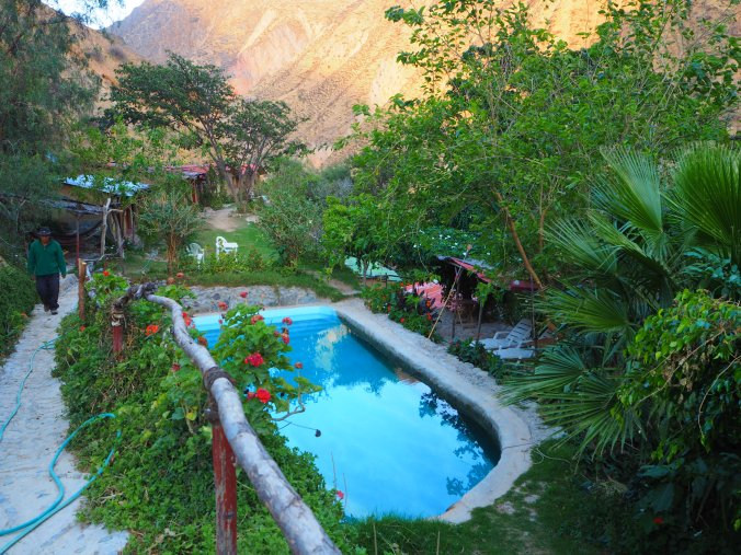 Our night in the Colca Cnayon