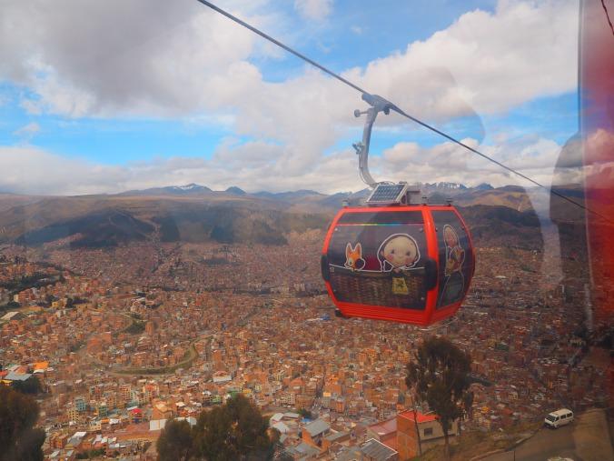 Teleferico, La Paz, Bolivia